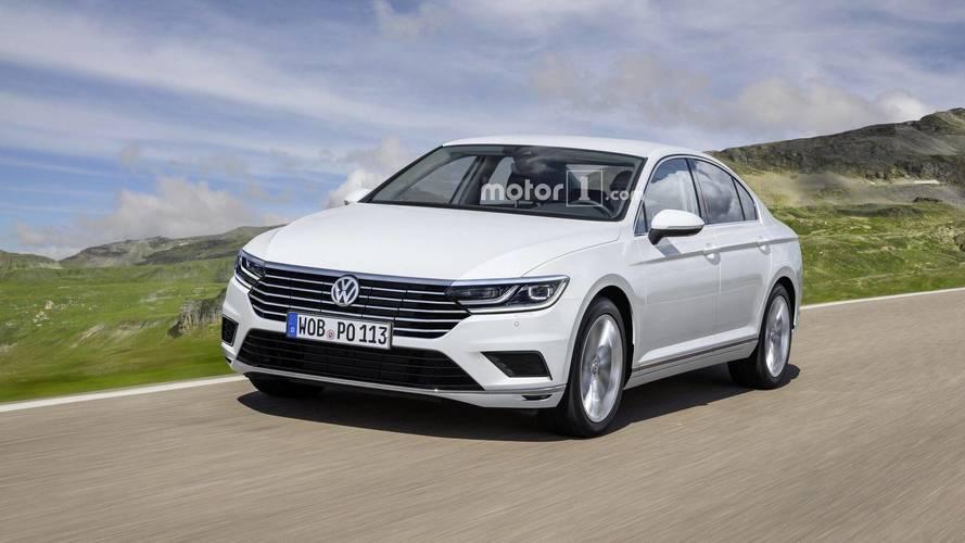 Volkswagen Passat 2019: projeção antecipa visual inspirado no Arteon