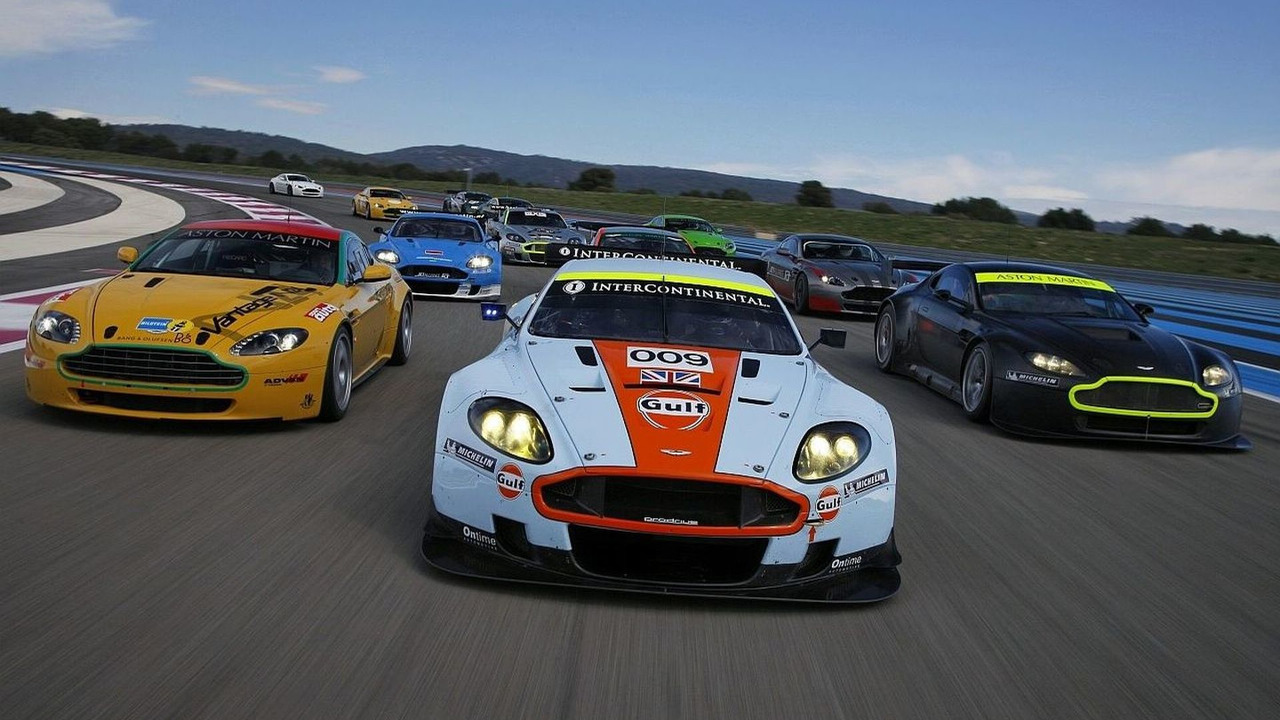 Aston Martin at Paul Ricard