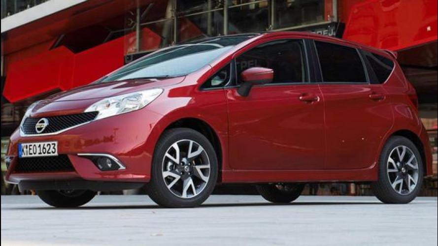 Nissan Note DIG-S: 3 cilindri e compressore per consumare meno