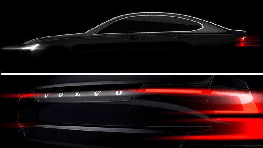 Volvo S90, le nuove forme dell'ammiraglia