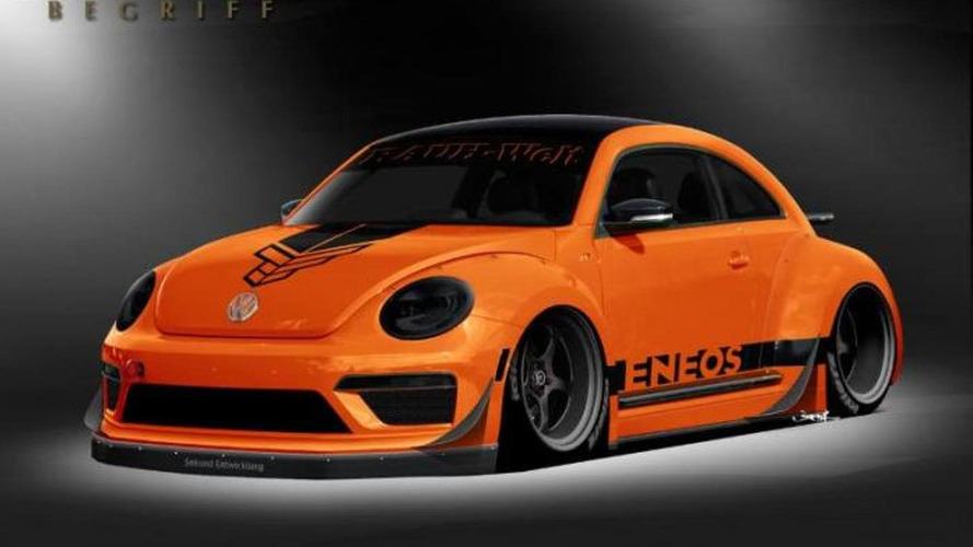 Customized Volkswagen Beetle unveiled at SEMA by Tanner Foust and RAUH-Welt Begriff