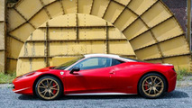 Ferrari 458 Italia dedicated to Niki Lauda