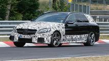 2015 Mercedes C63 AMG Estate spy photo