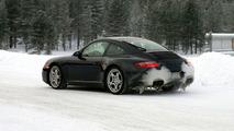 New Porsche 911 Targa spy photos