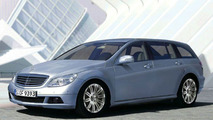 New Mercedes C-Class Estate - Artist Impression