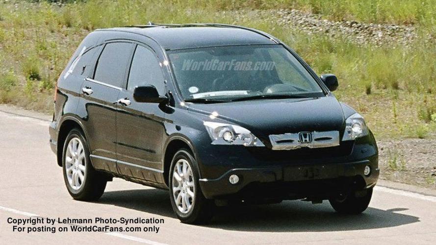 More 2007 Honda CR-V Spy Photos