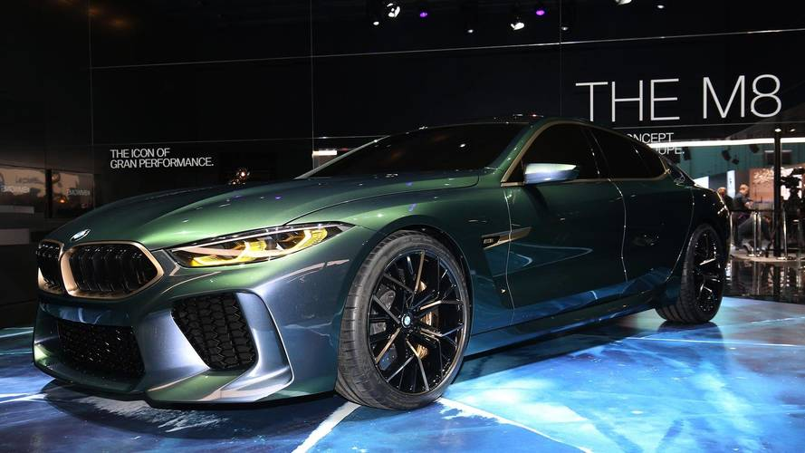 BMW Concept M8 Gran Coupe al Salone di Ginevra 2018