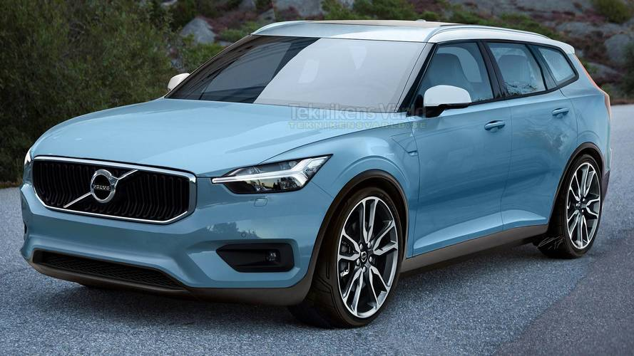 Yeni Volvo V40 render'ına bir göz atın