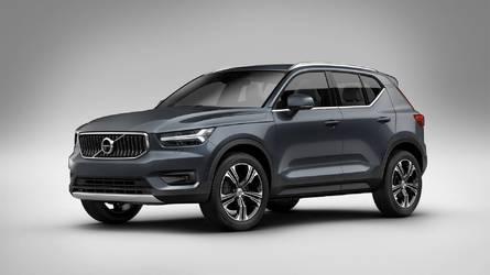 A Volvo XC40 lesz a gyártó első tisztán elektromos modellje