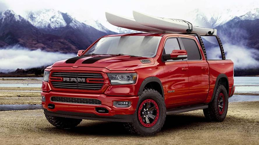 Ram 1500 shows off its Mopar accessories
