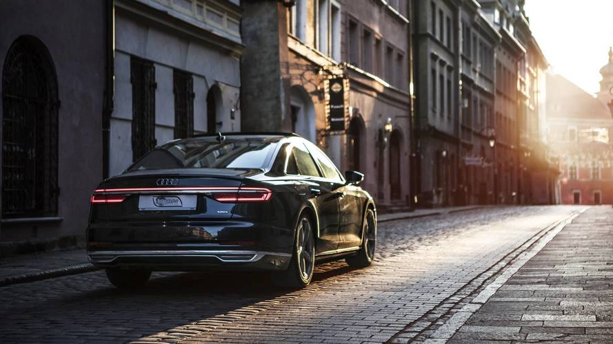 You Don't Have To Like The Audi A8 To Enjoy These Stunning Images