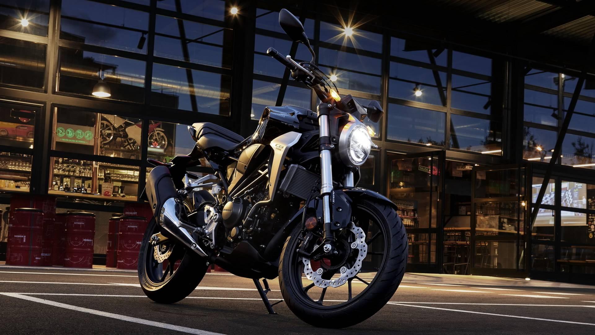Nova Honda CB300R 2018