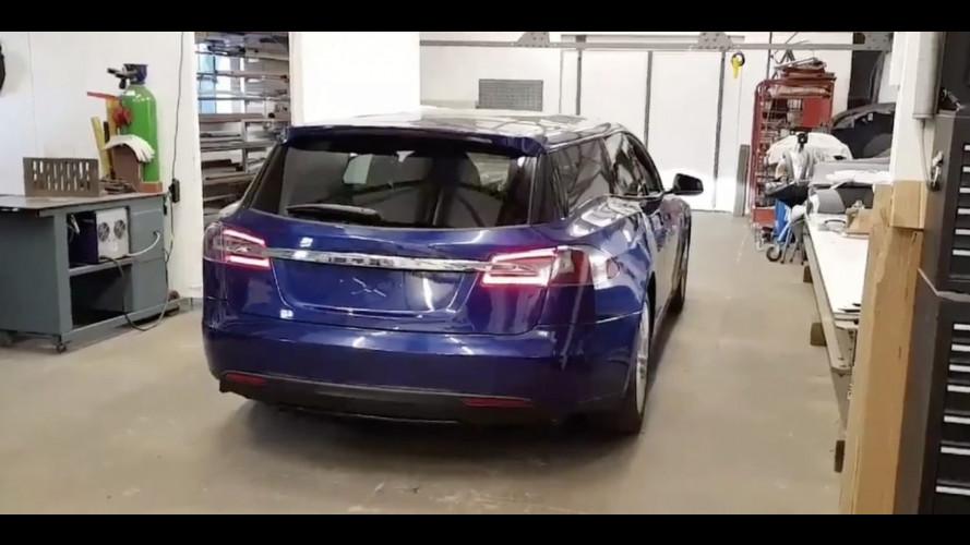 Tesla shooting brake to be featured at London motor show