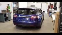 Tesla Model S, dall'Inghilterra la station wagon