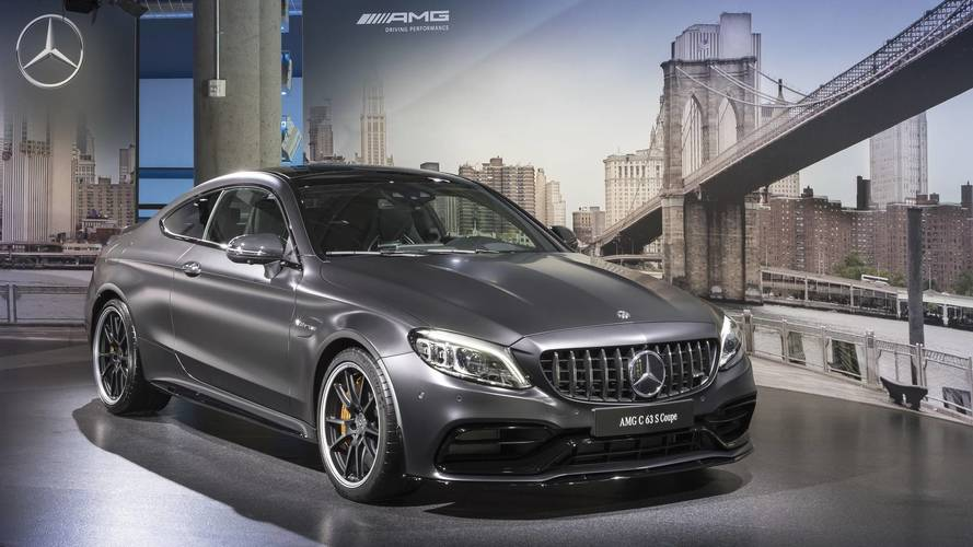 Get Up Close And Personal With The 2019 Mercedes-AMG C63 S Coupe