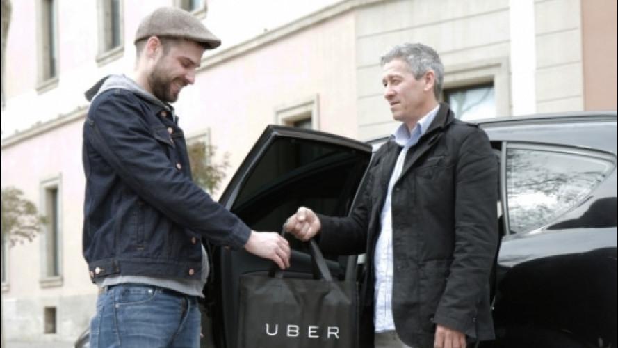 Uber porta la pizza a casa