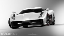 Ugur Sahin Design Ferrari Project F Concept