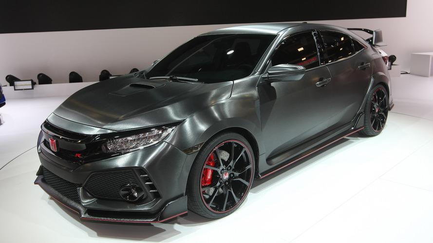 Honda présente un prototype de sa Civic Type-R