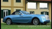 Pininfarina Hyperion - Rolls-Royce é transformado em conversível exclusivo