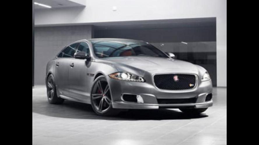 Jaguar XJR al Salone di New York