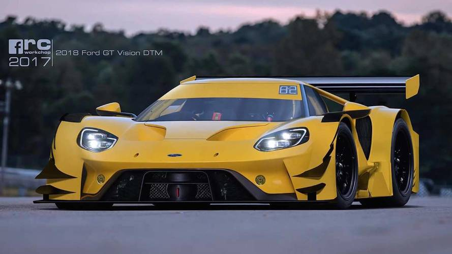 Ford GT Imagined As A Hardcore DTM Race Car