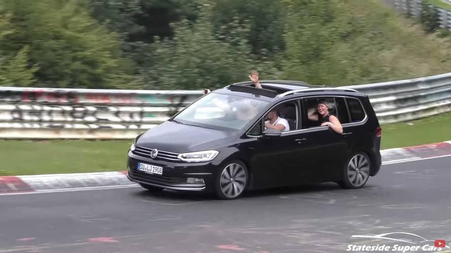 Vans round the Nürburgring –this video is a must-see