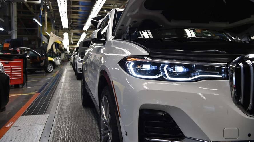 Megkezdődött az előszériás BMW X7 gyártása