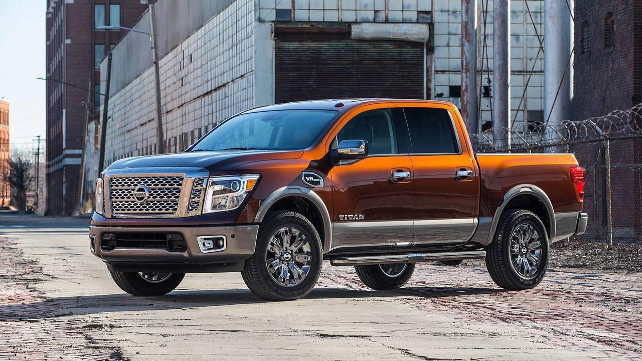 9. Nissan Titan Platinum Reserve 4WD Crew Cab: $57,145-$58,690 (2017 prices)