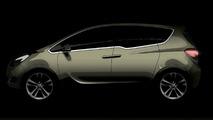 Opel Meriva Flexes its safety muscle