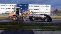 Bugatti Chiron crash