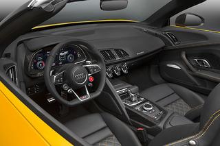 The 2017 Audi R8 Spyder Dazzles at the NY Auto Show