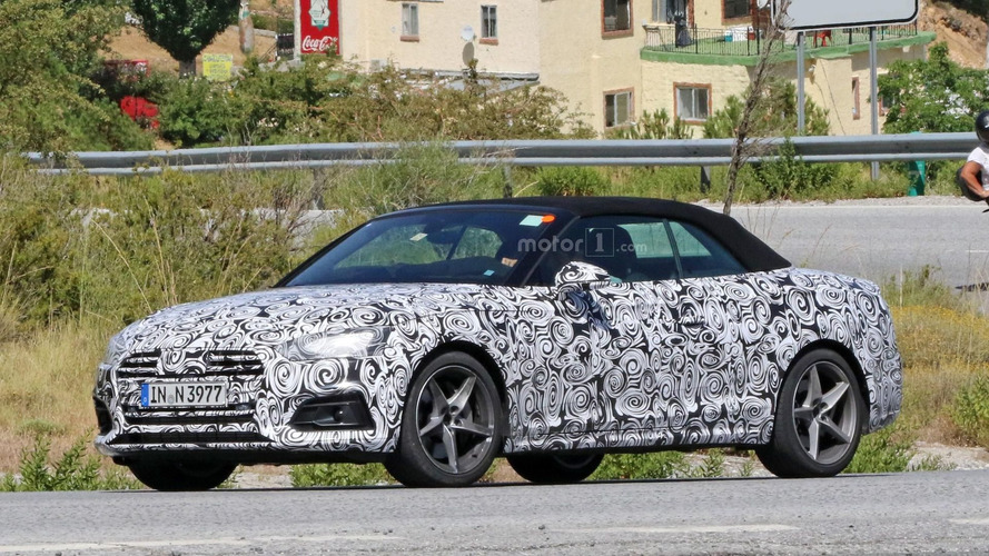 2018 Audi A5 Cabrio basks in the Spanish sun