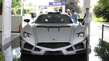 1000-hp Mazzanti looks devilish in live photos