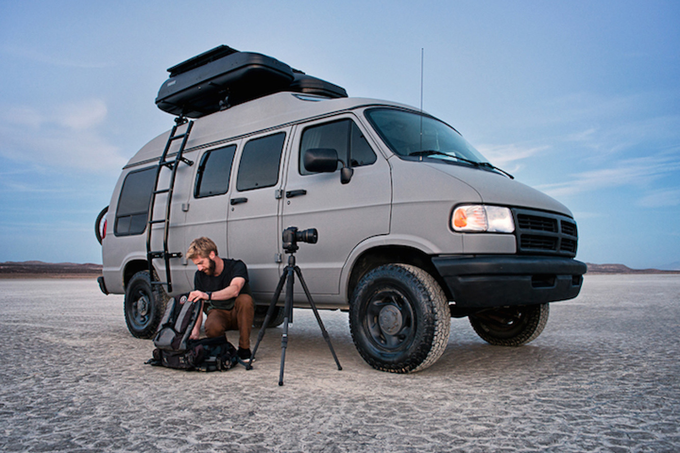 One Photographer Turned A 1994 Ram Van Into the Perfect Road Trip Vehicle