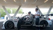 Stefan Ehlen testing the BMW M6 GT3