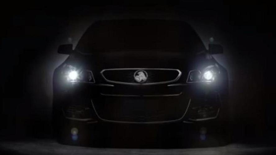 Holden Commodore VFII teased
