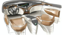 Nissan FORUM Concept Interior Sketch