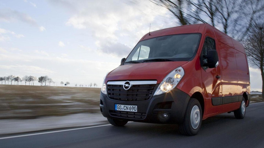 2013 Opel Movano gains start/stop system, increased towing capacity