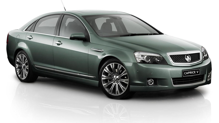 2016 Holden Caprice to a receive a facelift and a new engine