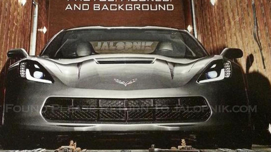 Chevrolet Corvette C7 shows its face