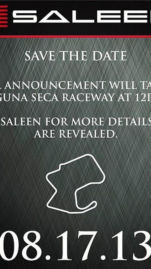 Saleen teases new model, could be the already confirmed supercar