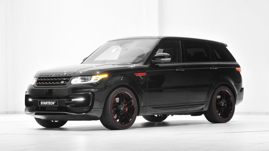 startech range rover sport unveiled at essen features. Black Bedroom Furniture Sets. Home Design Ideas