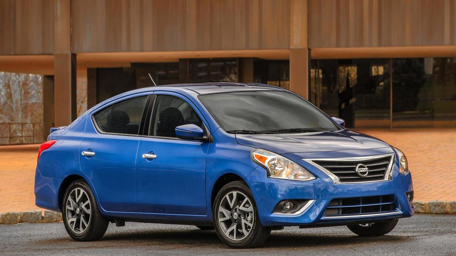 2015 Nissan Versa Sedan breaks cover, arriving in NY next week