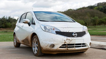 Nissan Note with self-cleaning paint