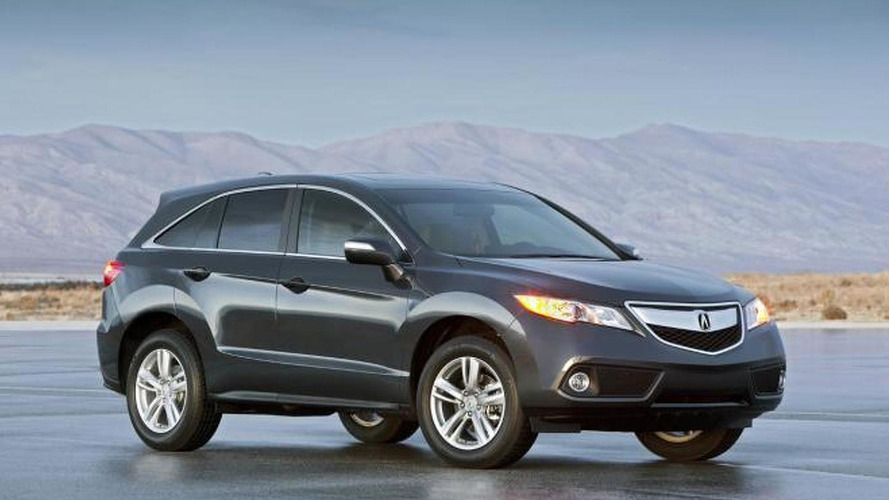 2013 Acura RDX Crossover revealed