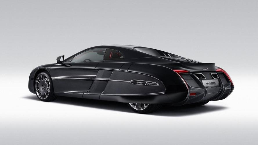 McLaren X-1 concept officially unveiled in Pebble Beach