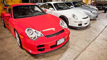 Impounded Porsches