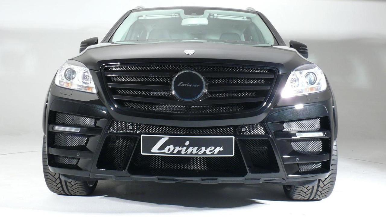 Mercedes M-Class by Lorinser 26.4.2012