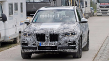 BMW X5 Headlight Spy Photos