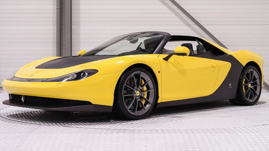 Rare Ferrari Sergio Costs An Unbelievable $6.4 Million
